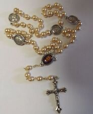Blessed Francisco Marto of Fatima Rosary with 3rd Class Relic, New from Portugal