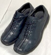 MENS Reaction Kenneth Cole Blue Leather made in Italy size US size 8 M  W02145