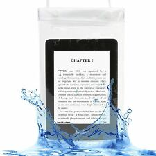 WHITE WATERPROOF CASE COVER BAG POUCH FOR AMAZON KINDLE FIRE 7,TOUCH, PAPERWHITE