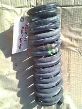 MERCEDES W210 E420 1997 PAIR LEFT AND RIGHT REAR SUSPENSION COIL SPRINGS SPRING