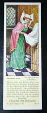 The Merry Wives of Windsor  Shakespeare  Mistress Page  Vintage Card # VGC