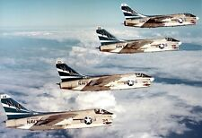 US Navy Corsair II Blue Tail Flies in flight 13x19 Vietnam War Photo Poster 249