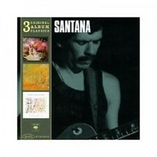 SANTANA-ORIGINAL ALBUM CLASSICS (ILLUMINATIONS,ONENESS,SWING DELIGHT) 3 CD NEU