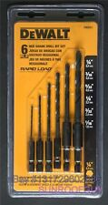 DeWALT 6 pc Rapid Load Hex Shank Drill Bit Set (DW2551) - NEW