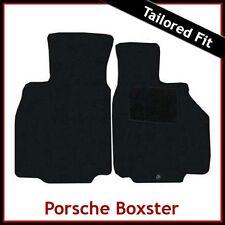 Porsche Boxter 986 1996-2004 Tailored Fitted Carpet Car Mats BLACK