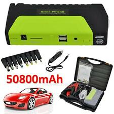 50800mAh 12V Portable Car Jump Starter Pack Booster Charger Battery Power Bank
