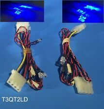 NEW 8-LED Bright Blue PC Mod Kit to Light up Gaming Case, Molex Powered w/ Cable