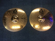 "Paiste Alpha 15"" Hi Hat Cymbals - 15"" Rock Hats"