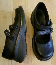 Dr. Martens Black leather Loafers Size lil bigger of size 7  used