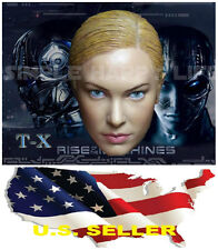 1/6 Kristanna Loken head sculpt 2.0 Terminator 3 T-X for Hot Toys Phicen ❶❶USA❶❶