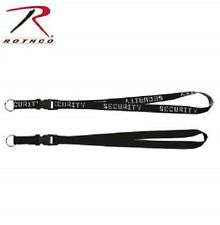 "MILITARY SECURITY NECK STRAP KEY RING 32"" QUICK RELEASE"