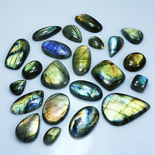 22Pcs. NATURAL SPECTROLITE LABRADORITE MIX CABS GEMSTONE 505.80Cts MANUFACTURER!