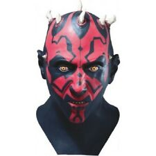 STAR WARS - GUERRE STELLARI DARTH MAUL EP1 FULL LATEX MASK - ORIGINALE RUBIE'S