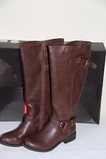 NEW GUESS Hing WC Women's Tall Winter Dark Brown Knee High Boots Shoes Size 6.5