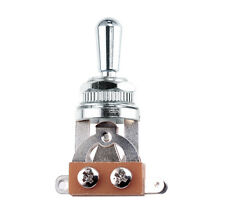 Toggle Switch with Metal Tip for Les Paul - Chrome