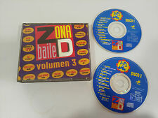 ZONA DE BAILE VOLUMEN 3 - 2 X CD 1992 GASA SPANISH EDITION FAT BOX
