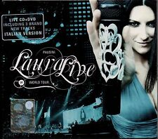 LAURA PAUSINI CD + DVD Live World Tour 2009 MADE in the EU 2001 SIGILLATO sealed