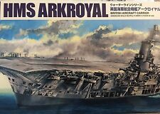 1/700 British Aircraft Carrier HMS ARK Royal & U-81 *NEW* 2015 Aoshima