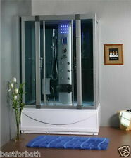 Steam Shower Cabin,Whirlpool Tub,Heater,thermostat,Bluetooth.6 Year Warranty.
