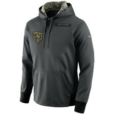 Nike Chicago Bears 2016 NFL Salute to Service Hoodie (2XL) - BRAND NEW