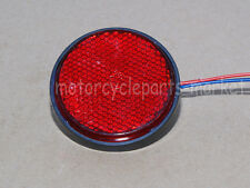 1PCS Round Reflector RED LED Rear Tail Brake Stop Light Third Toyota COROLLA