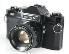 CHINON CS 35mm SLR Film Camera + 55mm F1.7 Lens