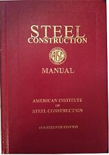 AISC: Steel Construction Manual (2011, 14th Ed, Hardcover)