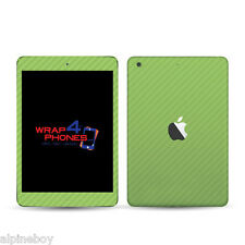 3D Textured Carbon Skin Cover Sticker Decal Vinyl Wrap ALL Apple iPad Tablets
