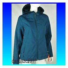 The North Face Women's Hoodie Windwall Jacket Blue Large  Osito Soft Shell