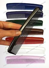 "NEW Professional Duralon Salon Barber Comb 6"" Pocket Hair Combs UK made set of2"