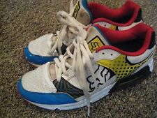Fox Racing Concept Shoes Men Size 11 White red Blue