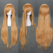 Vogue Women's Long Straight Fashion Hair Cosplay Anime Wig Party Wig/Wigs Orange