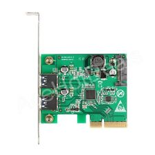 PCI-E Express 4x to USB 3.1 10Gbps Expansion Card Adapter w/Low Profile Bracket