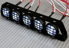 RC Scale Accessories All Metal  LIGHT BAR WITH L.E.D LED LIGHTS BLACK