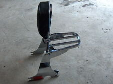 2008 HARLEY DAVIDSON SPORTSTER BACKREST WITH QUICK DETACHABLE RACK