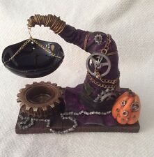 YANKEE CANDLE 2015 STEAM PUNKIN WITCHES HAT TART MELT WARMER STEAM PUNK NIB S/O