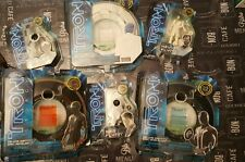 Complete Set Tron Legacy Deluxe Identity ID Disc Figures Kevin Sam Flynn Rinzler
