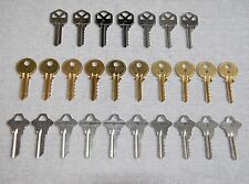 LOCKSMITH - NEW 3 Sets - Schlage SC1, Kwikset KW1 and Yale Y1 Space & Depth Keys