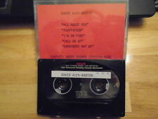 VERY RARE David Alex-Barton DEMO CASSETTE TAPE Outlets Black Cat Bone UNRELEASED