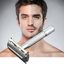 Men's Classic Traditional Shaver Double Blade Safety Shaving Salon Razor UR