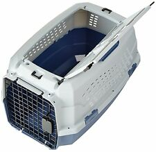 23 Inch Pet Carrier Two Door Top Load Pet Kennel Travel Crate Dog Cat Puppy Cage