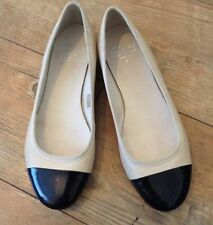 Bnwb Clarks Leather Ballet Pumps Flat Leather Shoes Wide Fit Uk 7