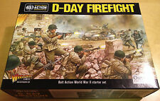 D-DAY FIREFIGHT - BOLT ACTION WORLD WAR II 2 STARTER SET - 28MM BNIB WARLORD