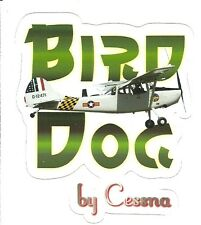CESSNA L-19 BIRD DOG AIRPLANE  Sticker Decal