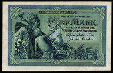 Germany  5 Mark 1904  UNC  P.8a