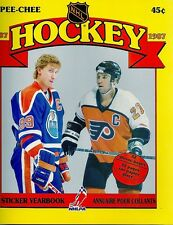 1987-88 O-Pee-Chee Sticker Set with Album - Gretzky, Roy etc.