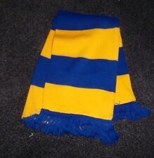 HORSE RACING SCARF BLUE AND YELLOW
