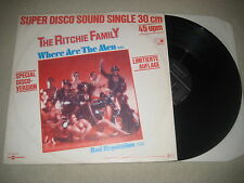 The Ritchie Family - Where are the men     12'' Vinyl Maxi