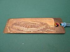 Seoul WORLDCUP STADIUM Book Mark Brass