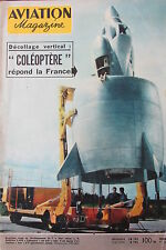 MAGAZINE AVIATION INTERNATIONAL N° 254 de Juillet 1958 COLEOPTERE RAIDS 1934